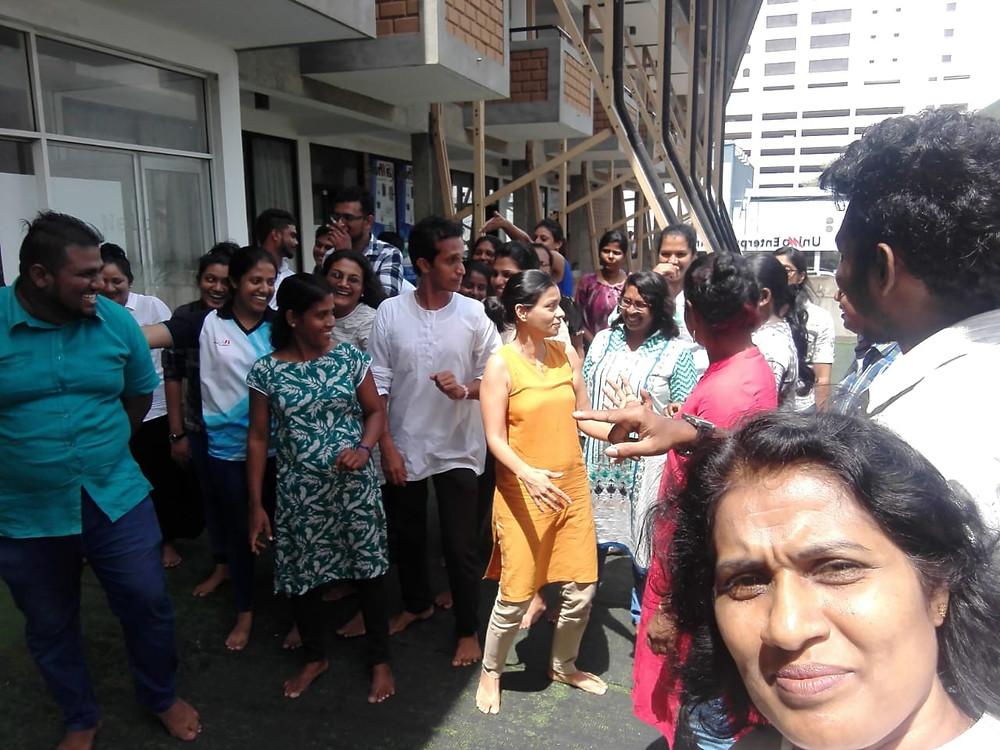 Sri Lanka, Dramatherapy Day, journey, outside activity
