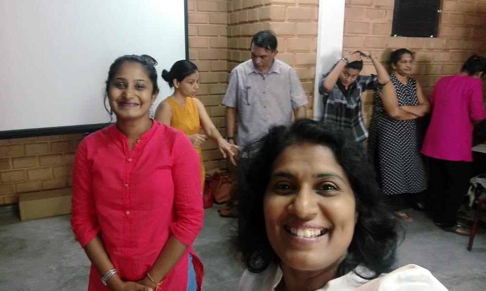 Dr. Ravindra Ranasinha and Ms. Tehani Chitty, Sri Lanka, Dramatherapy Day