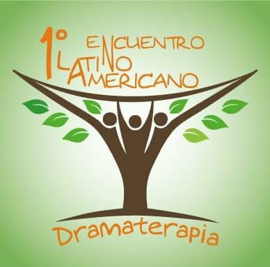 Logo of the first Latin American Dramatherapy Encounter in Chile