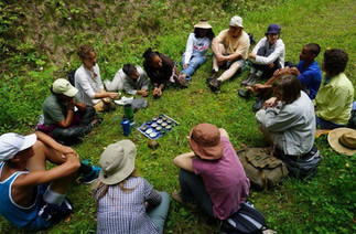 UK: Therapist's Guide for Practicing Outdoors by dramatherapist Ian Siddons Heginworth