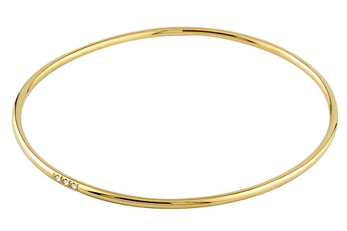 Unity bracelet diamonds 18kt gold