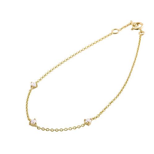 Diamonds 18k gold bracelet