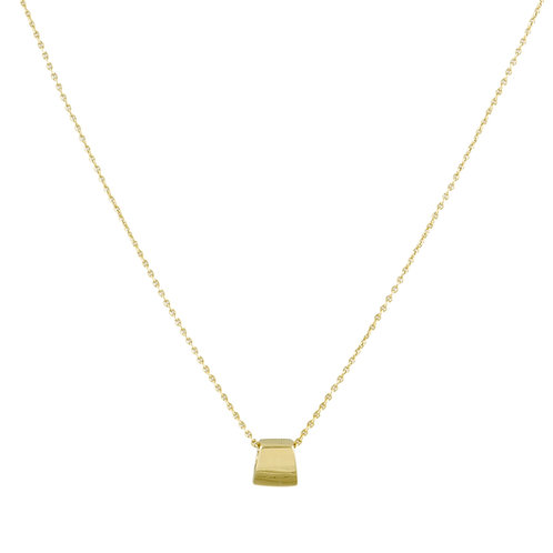 Theorem necklace S 18kt gold - Collier S Theorem or 18ct