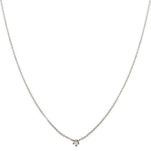 Dear diamond necklace 18kt gold