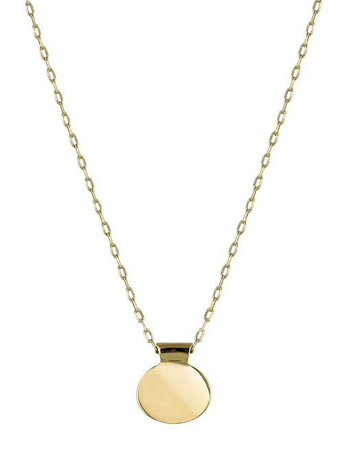 Ellipse necklace 4 18kt gold - Collier Ellipse 4 or 18ct