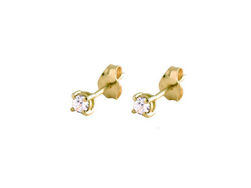 Only diamonds earrings 18k gold
