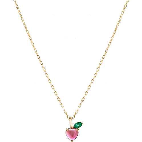 Apple 18k gold necklace