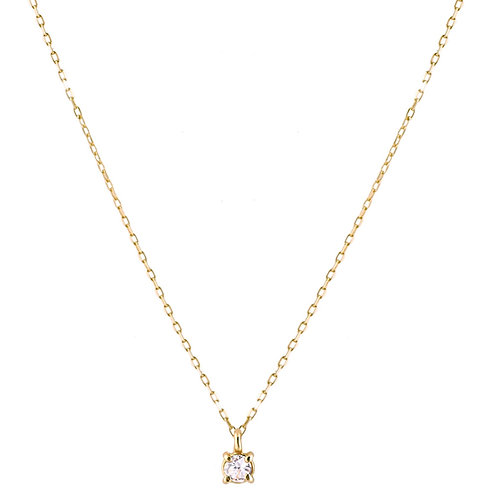 Only diamond necklace S 18kt gold