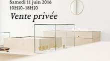 Private sales on saturday june, 11 at 55, rue Notre-dame de Nazareth, Paris, 3e