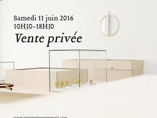 Today, private sales at 55, rue Notre-dame de Nazareth, Paris, 3e
