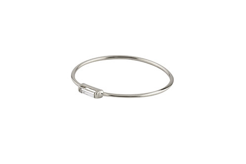 Tip-cat ring diamond 18kt gold - Bague Tip-cat diamant or 18ct