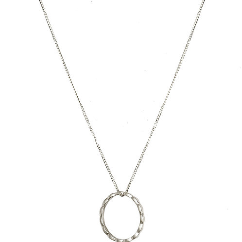 Navette necklace 18kt gold - Collier Navette or 18ct