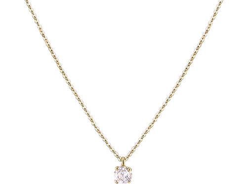 Only diamond necklace L 18kt gold