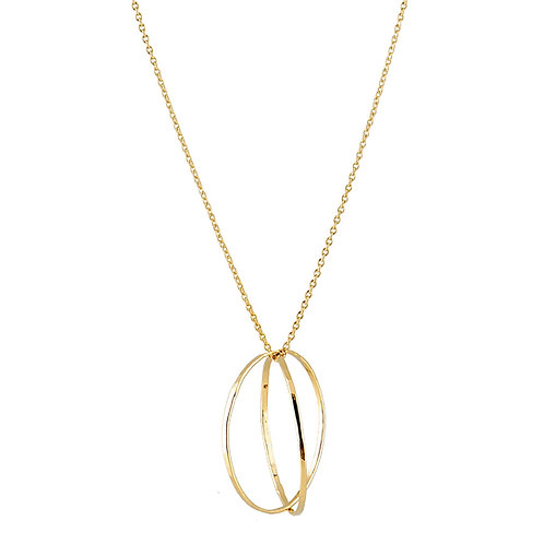 Welt  necklace 18kt gold -