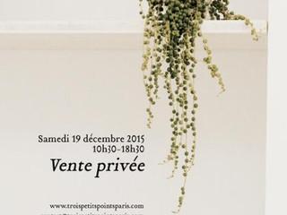 Private sales today at 55, rue Notre-Dame de Nazareth, Paris 3e