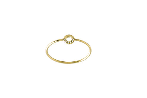 Saturne ring  18kt gold - Bague Saturne or 18ct