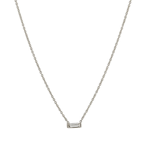Tip-cat necklace diamond  18kt gold - Collier Tip-cat diamant or 18ct