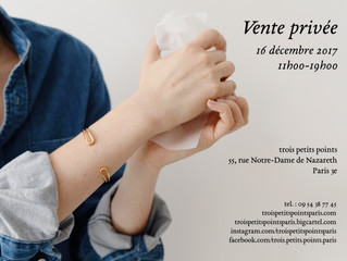 16 december - Private sales / vente privée