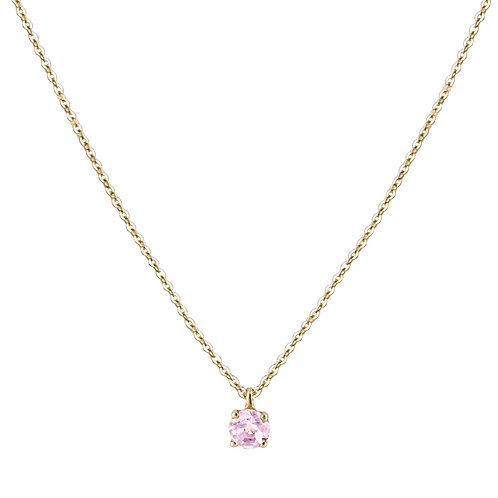 Only pink tourmaline necklace L 18kt gold
