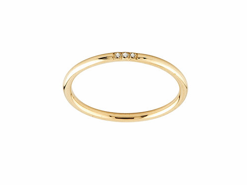 Unity ring diamonds 18kt gold