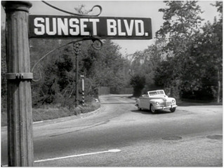 Sunset blvd, LA