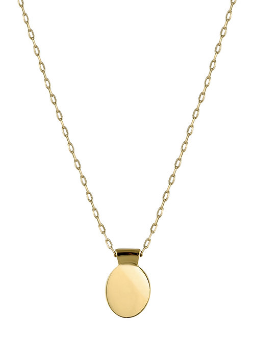 Ellipse necklace 3 18kt gold - Collier Ellipse 3 or 18ct