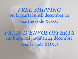 Only 6 days left for Free shipping !