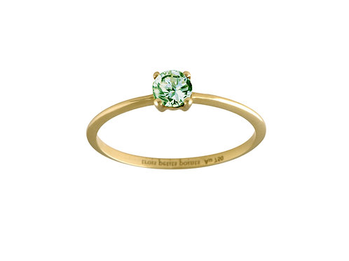 Only green sapphire ring L