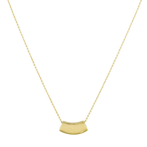 Theorem necklace L golden brass