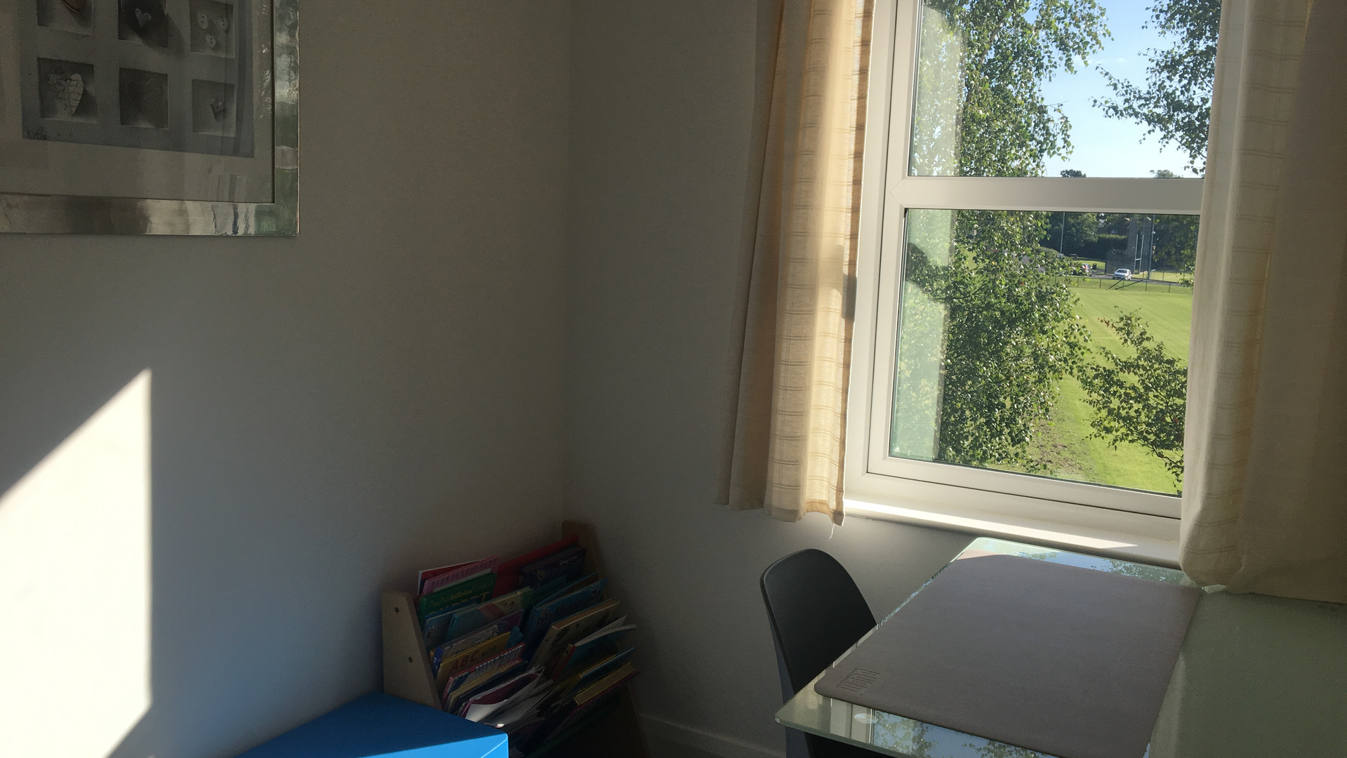 Study on first floor for both adults and children!