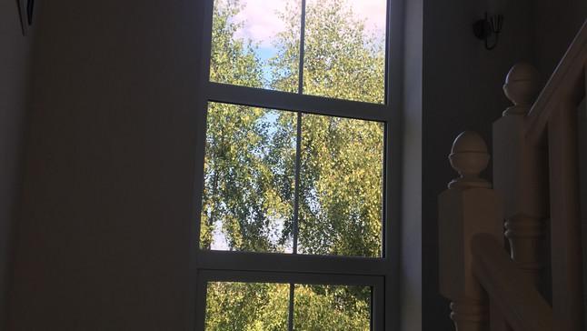 Window to upstairs
