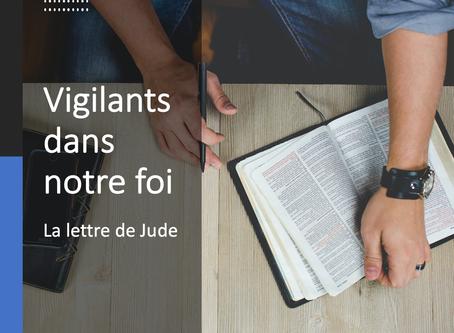 Vigilants dans la foi - Face aux faux-prophètes - Culte du 27 septembre 2020