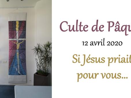 Culte de Pâques en ligne