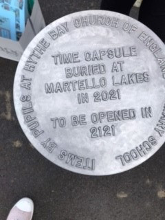 HYTHE BAY PRIMARY SCHOOL COMMEMORATES A YEAR LIKE NO OTHER WITH TIME CAPSULE BURIAL
