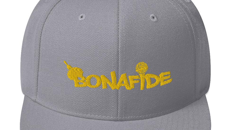 Gold Bonafide 3D Puff Snapback's