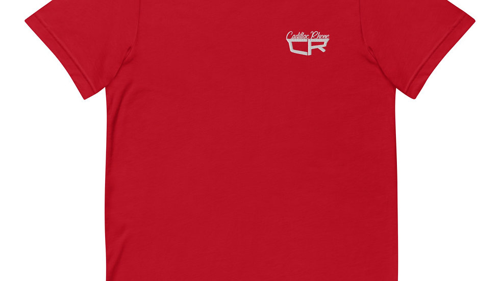 Cadillac Rhone Embroidered Short-Sleeve Unisex T-Shirt