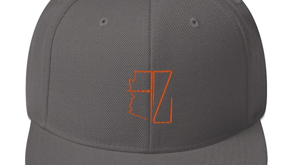 Orange AZ Snapback's