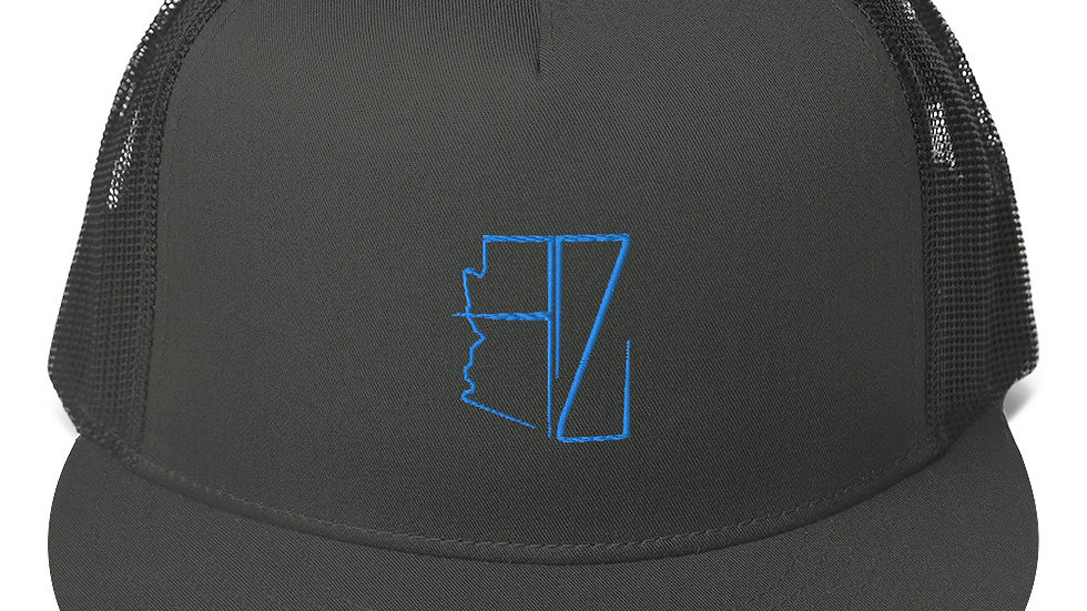 Royal Blue AZ Trucker Hat's
