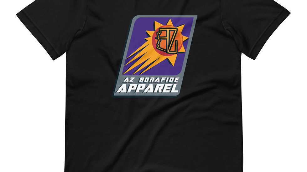 Short-Sleeve Unisex AZ Suns Themed T-Shirt