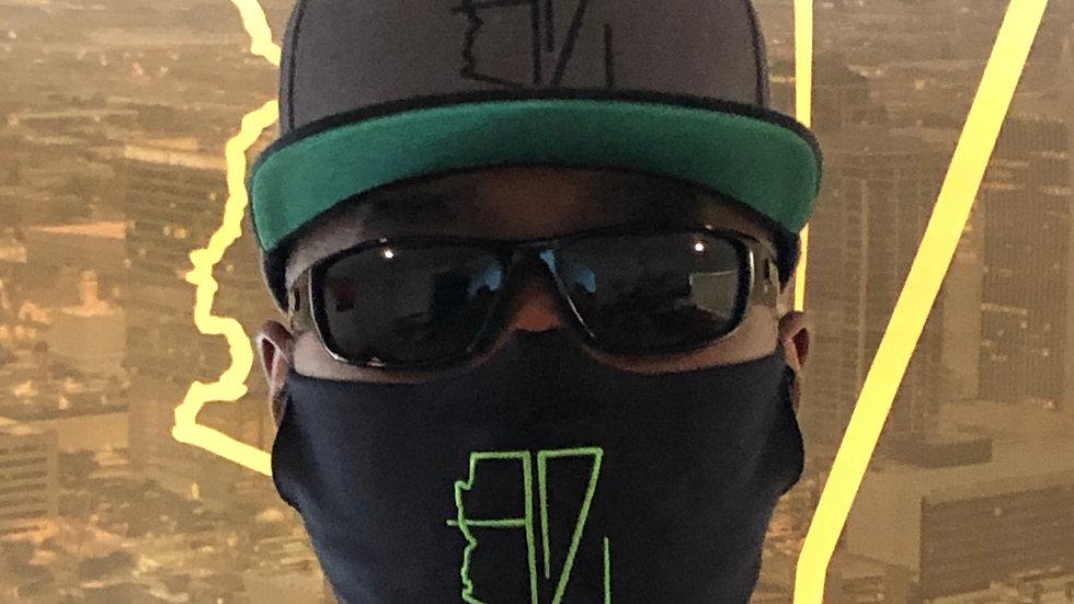 AZ Embroidered Cloth Masks