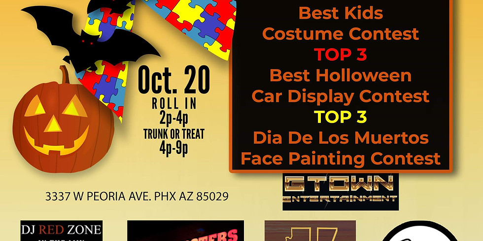 1st Annual Lowriders For Autism Trunk Or Treat