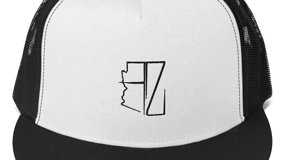 Black AZ Trucker Hats
