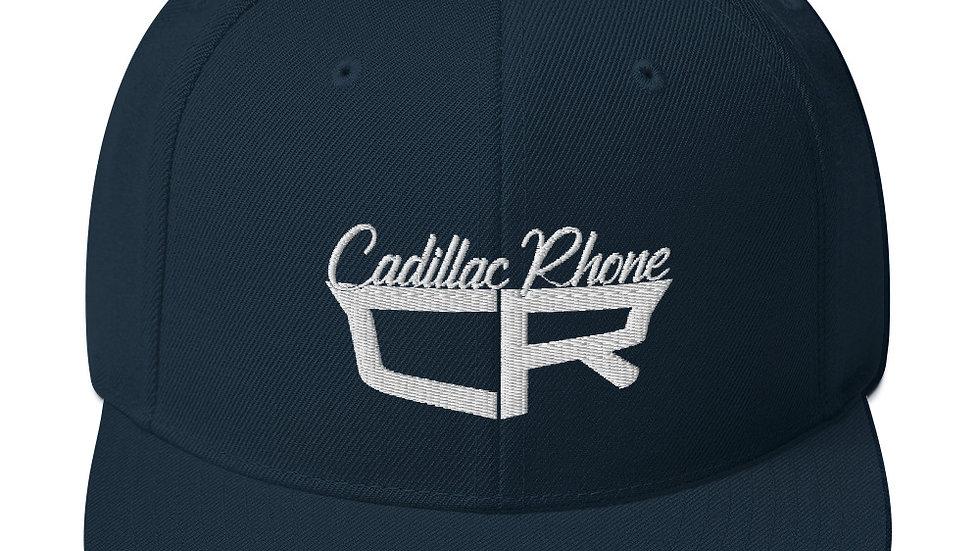 Cadillac Rhone 3D Puff Snapback Hat