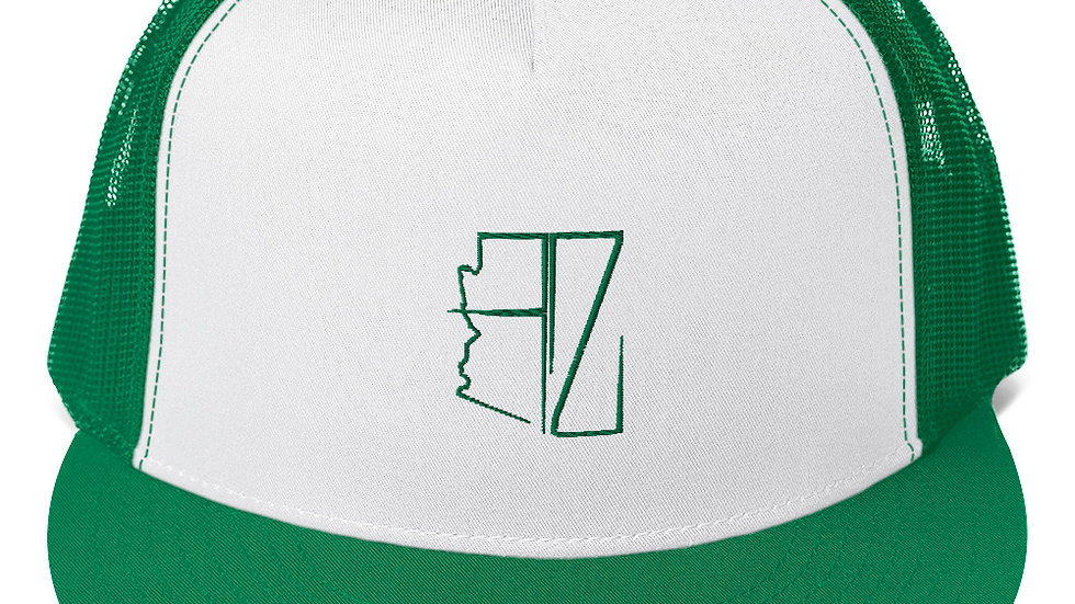 Green AZ Trucker Hat