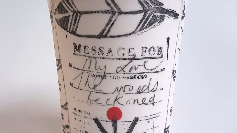 Message for my Love: the woods beckoned... #3