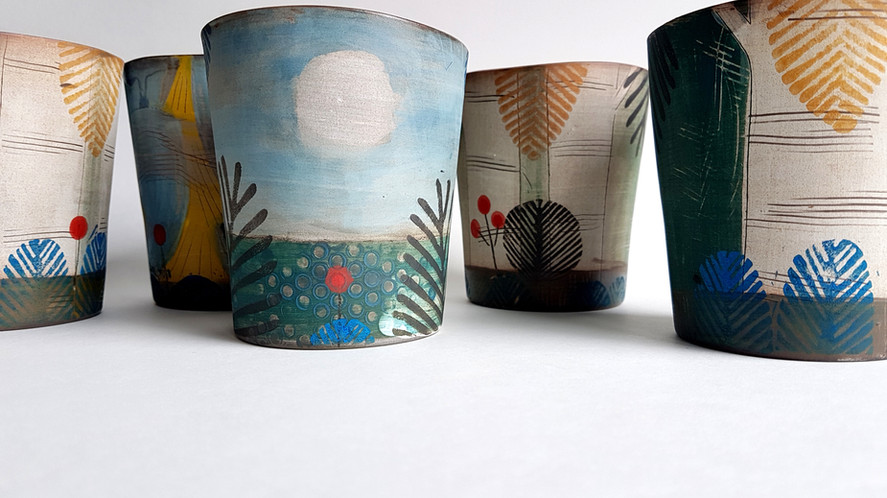 Woods by Bay cups