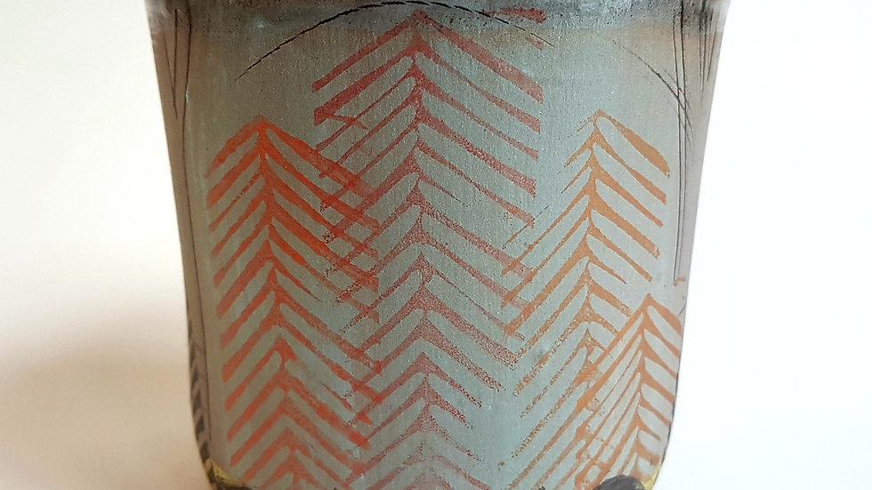 Medium Wide Woodland Tumbler #6