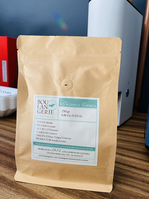 """Café """"Organico Garnica"""" .250gr"""