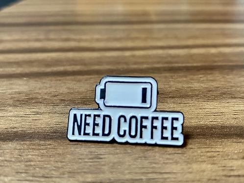 Pin +Coffee