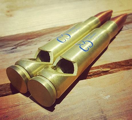 Matte Brass Bullet Bottle Opener